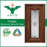 El mejor aluminio de los precios adorna las puertas de la seguridad para China