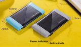 Ultra Slim 6000mAh batterie polymère Banque d'alimentation avec câble intégré