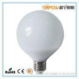 Caliente del bulbo LED 12W 15W 18W E27 B22 LED de luz de plástico de aluminio LED