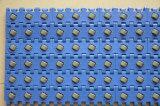 側面プーリータイププラスチックマットの上モジュラーコンベヤーベルト