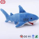 Jouets bourrés mous de grande de requin d'océan peluche animale bleue de la CE