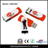 Azionamento poco costoso dell'istantaneo del USB della parte girevole (USB-083)