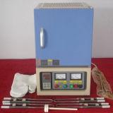 Fornalha da câmara, fornalha de resistência do laboratório de CD-1800X, forno de mufla