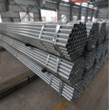 Q235 Ronda Galvanizado en caliente del tubo de acero para construcción