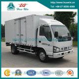Isuzu un euro IV 4X2 mini Cargo Truck Van Type da 4 tonnellate