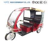 使用される電気三輪車乗客の電気3車輪のための電池の人力車