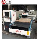 自動変更のカッターの木工業CNCの彫版機械