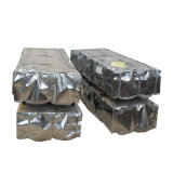 PPGI Feuille de toiture en métal ondulé de couleur du matériau de couverture