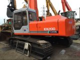 Máquina escavadora usada Ex200-1 Hitachi de Hitachi para a venda