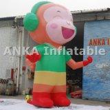 Personaggio dei cartoni animati gonfiabile di vendita caldo della scimmia 2016