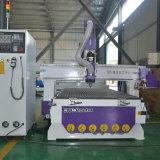 Router do CNC com o auto cambiador da ferramenta para o alumínio