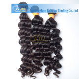 Человеческие волосы волны индийских человеческих волос глубокие