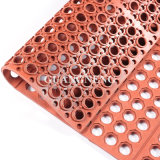 De RubberMat van de drainage/de RubberMat van anti-Bacteriën/Antislip RubberMat
