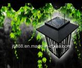 Lámpara al aire libre fotovoltaico del asesino del mosquito del jardín de la potencia del jardín