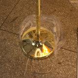 型の装飾的な鉄のPVC陰が付いている永続的な床ランプ