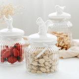 100% de la Junta de cerámica de vidrio con tapa para Candy/cocina usa