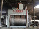 Máquina caliente de la prensa para la madera contrachapada/la prensa que lamina del ciclo corto