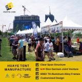 Huaye 5X5m немецкий стандарт пагода Палатка для продажи (hy INA219b)