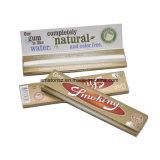 Papeles de balanceo de Weed del tabaco de cigarrillo del cáñamo del oro que fuman
