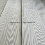 Tapume de fibra de cimento de cor branca