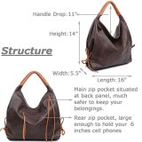 普及したHandbag Design女性Tote女性大きい容量の女性袋の方法袋PUの革ハンドバッグの女性ハンドバッグの女性袋(WDL01135)