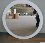 Specchio decorativo dell'argento della stanza da bagno di figura rotonda