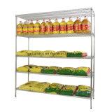 Шкаф Shelving полки провода крома индикации магазина продовольственного магазина зерна и масла
