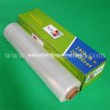 Película adherente de PVC para la conservación de frutas (12mic*300mm*300m) o personalizado