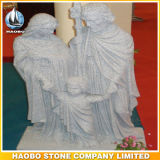 Unsere Dame der Anmut-Jungfrau- Mariakatholisch-Figürchens marmorn
