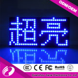 P10 Semi-Outdoor Display LED sem fio de cor azul