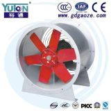 Yuton rotes Aluminiumschaufel-Gefäß-axiale Ventilatoren