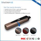 alloggiamento di ceramica del mini vaporizzatore del titano 1300mAh che riscalda la penna asciutta di Vape E dell'erba