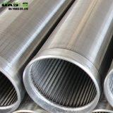 La alta calidad del OEM galvanizó los filtros para pozos envueltos el alambre continuo de acero de la ranura V Johnson