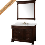 Antike Entwurfs-Badezimmer-Eitelkeits-klassischer Badezimmer-Schrank