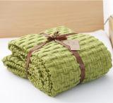 100% قطن أكبر من المعتاد يحبك غطاء لأنّ شتاء بيع بالجملة