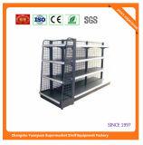 Estante del supermercado del metal para el dispositivo 08049 de la venta al por menor del almacén de Ecuador