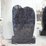 Alta calidad de lápidas de granito azul Orion Traditionelle Stelen