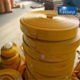 Tubo flessibile ad alta pressione di Layflat di scarico del PVC con gli accoppiamenti rapidi