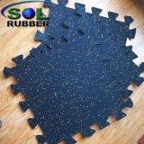 Высокое качество EPDM гранул резиновый пол спортзал коврик