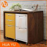Garage/Kitchen/Bathroom 3-Drawer Steel Storage Cabinet