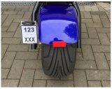 Potente batería de litio de alta velocidad de 1200W Citycoco CEE Harley Scooter eléctrico