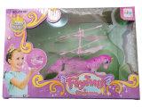 Миниые ультракрасные игрушки летания индукции с цветастым светом