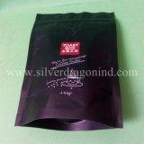 Saco de feijão plástico do café do reforço lateral com Zipper