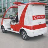 CE aprobada Vehículo Eléctrico Mini Camión Contra Incendios Dvxf-3