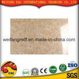 Feuille de marbre UV élevée de Gloosy pour la décoration de mur