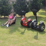 coche del balance de la vespa del golf de la rueda de 1266wh 72V 4000W dos