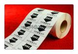 Etiqueta adesiva personalizada da etiqueta do rolo
