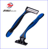 Qualität Triple Blade Disposable Shaving Razor für Russland USA Suadi Arabien Spanien (4PCS/card)
