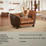 2016 de nieuwe Producten van het Huisdier van de Bank van de Hond van het Leer van de Luxe van het Ontwerp