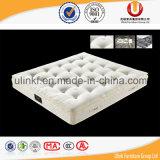 El mejor colchón de resorte del bolsillo del doble de la venta para los muebles caseros (UL-K106)